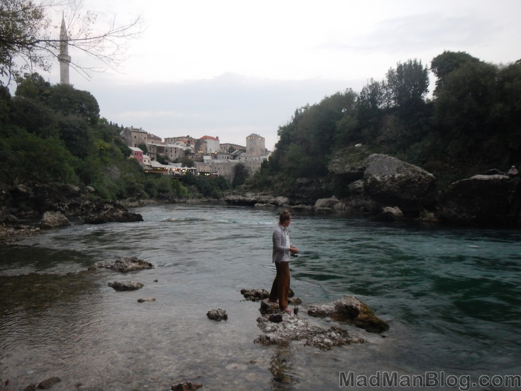 Fishing in Bosnia