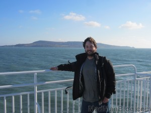 Me - Dublin to London (Holyhead) Ferry