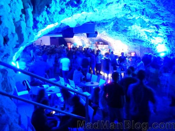 Rave in a Cave in Makarska