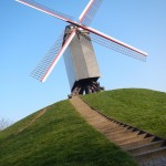 Photo of the Week - Bruges: Windmills are Great :)