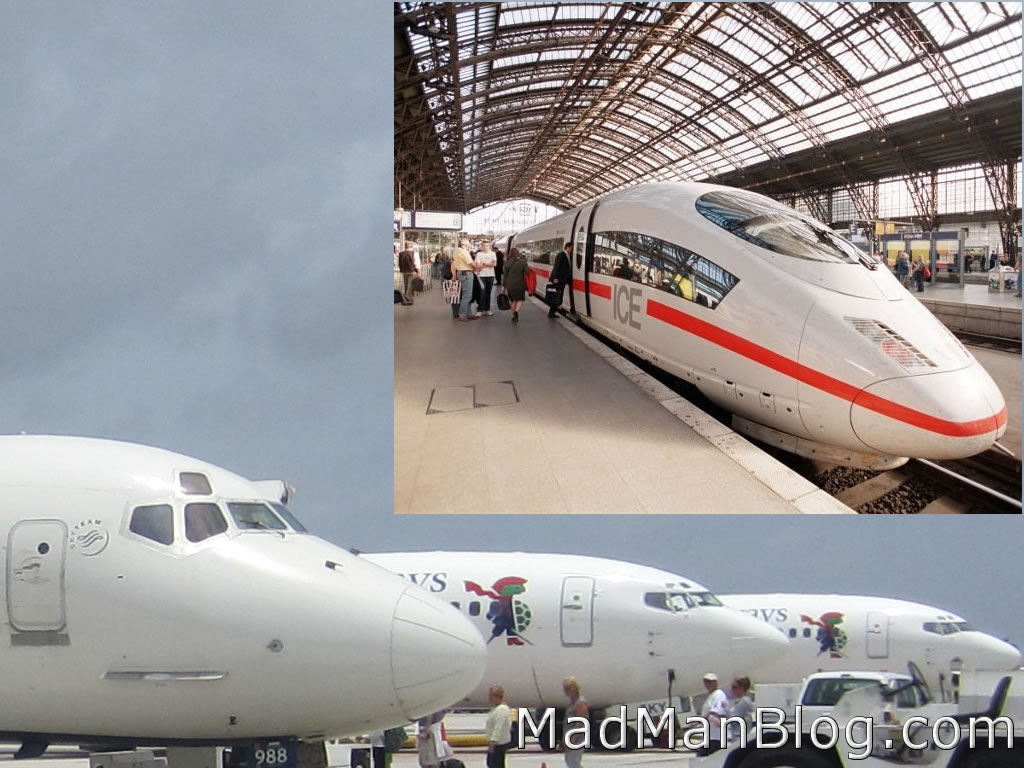 Airplane vs Train