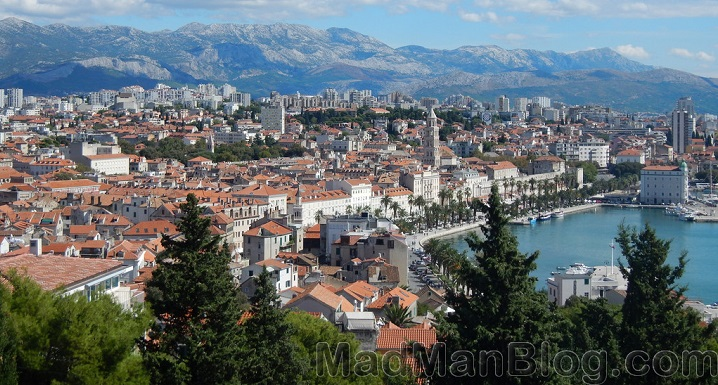 [Gallery] Split, Croatia - Beaches, Mt. Marjan, and Panoramas :)