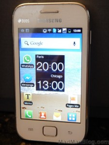 Samsung Duos Smartphone